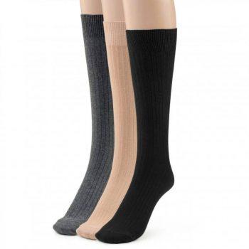 Men's cotton dress socks