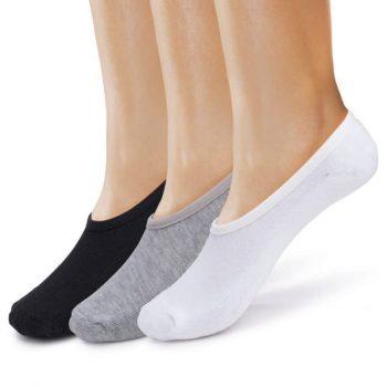 Men's no show cushioned socks