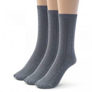 Dress socks bamboo crew