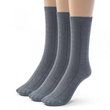 Dress socks bamboo crew