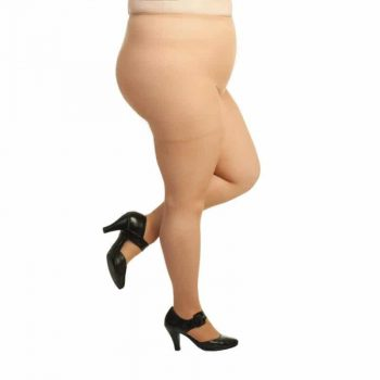 Plus Size sheer pantyhose