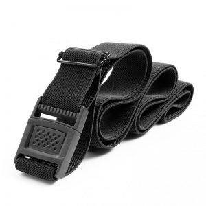 Black stretch waist belt