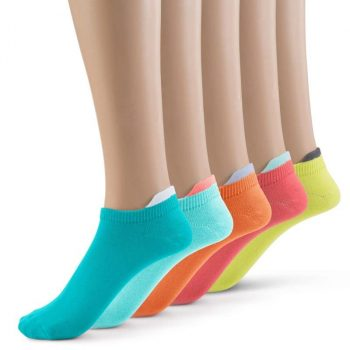 Various colors ankle socks + tab