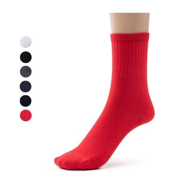 School crew socks