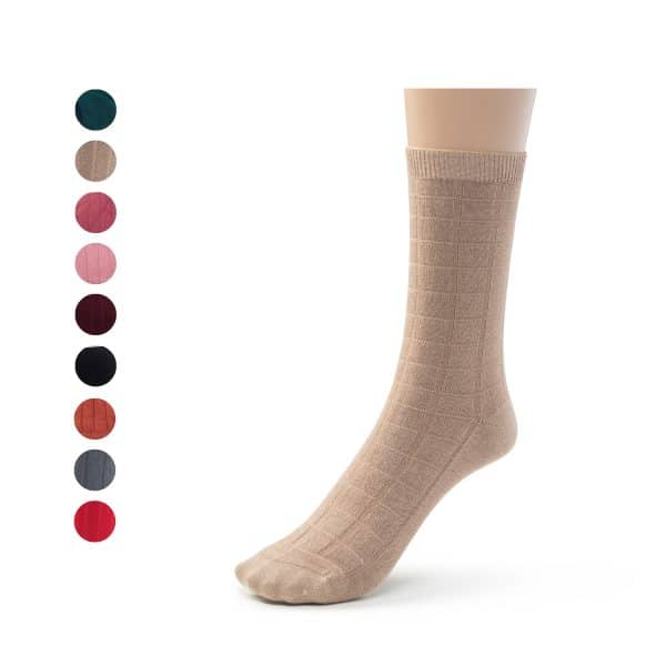 bamboo socks designed dress casual