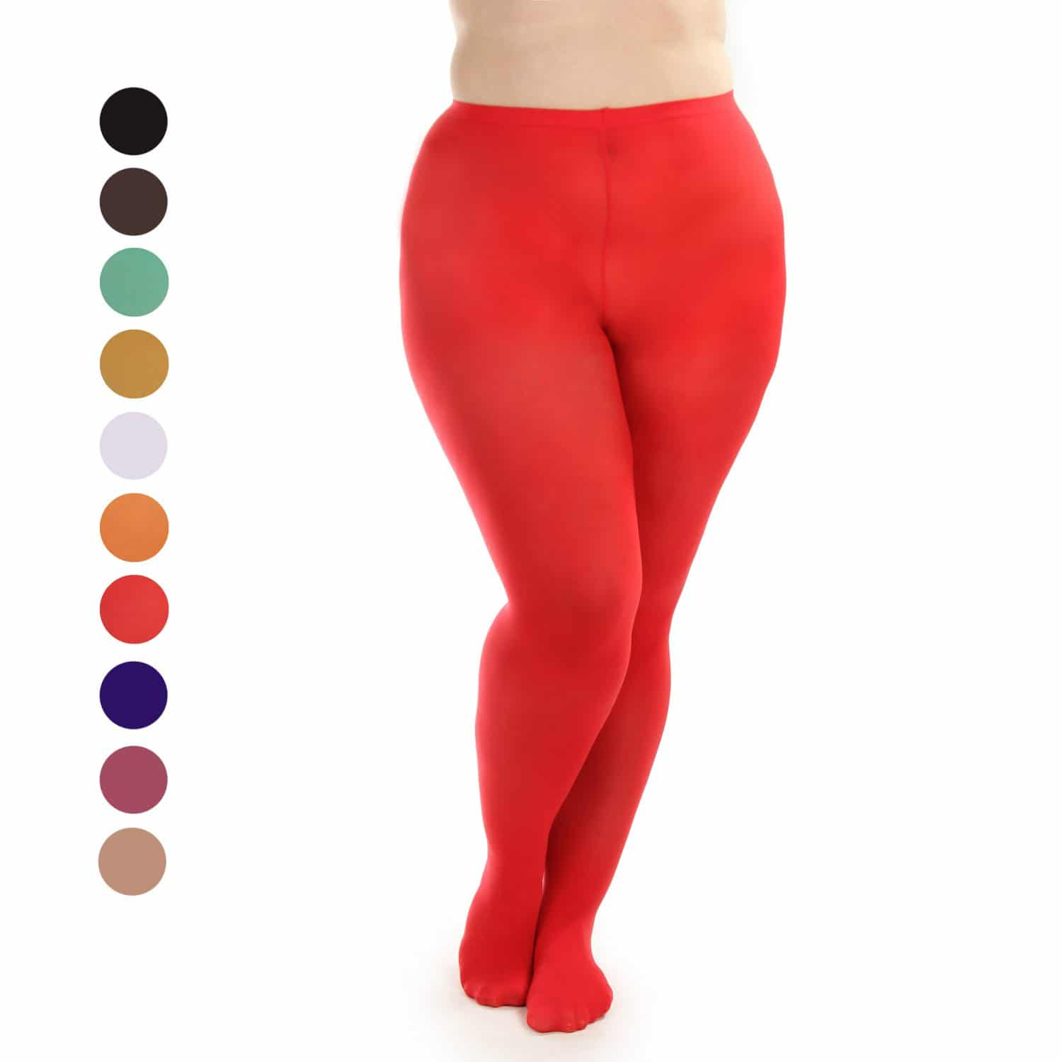 women's plus size tights